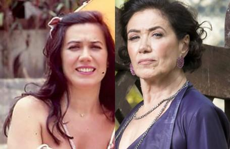 No ar como a megera Valentina, Lilia Cabral era Alva em 'Pedra sobre pedra' e fazia parte do Grêmio Recreativo de Resplendor, a cidade fictícia da trama TV Globo