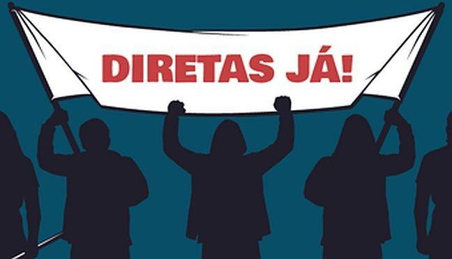 Diretas já, o trunfo de Dilma (Foto: Arquivo Google)