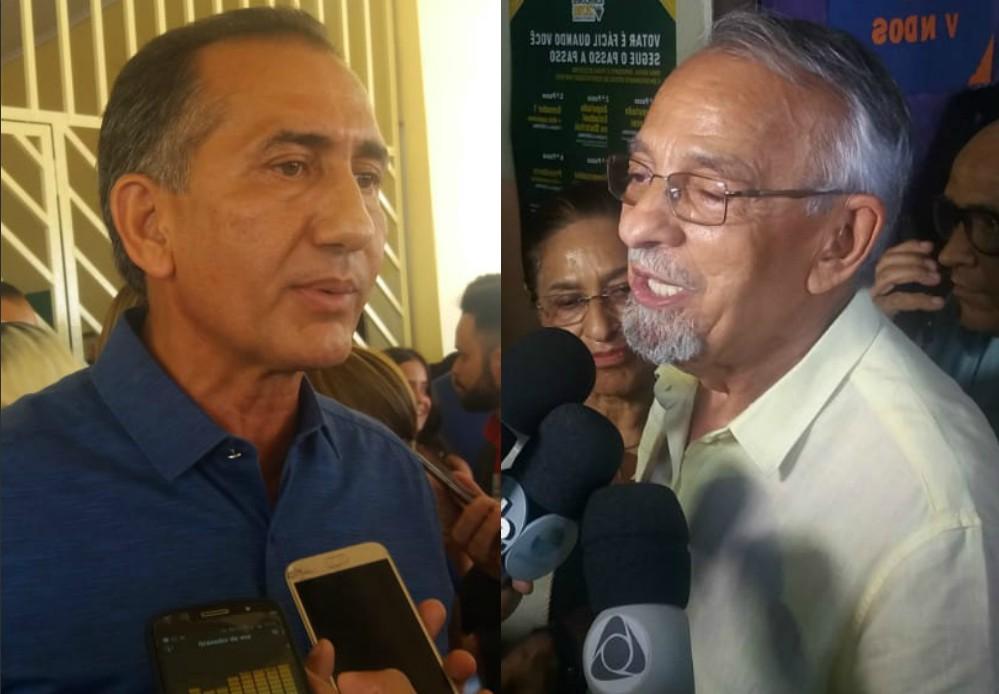 Sobre decisão do TSE, Capi diz que povo ganhou no tribunal; Waldez lamenta atraso no 2º turno