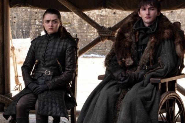 Cena do último episódio da oitava temporada de 'Game of Thrones' (Foto: HBO)