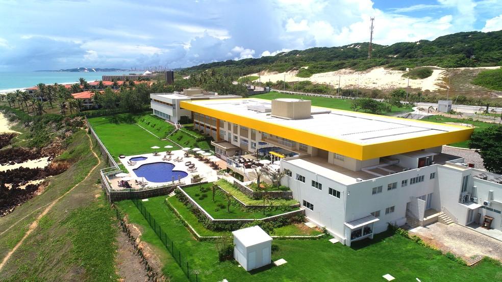 Hotel-Escola Senac Barreira Roxa — Foto: Divulgação
