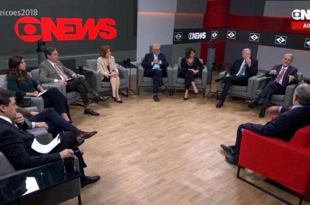 'Central das eleições', da GloboNews (Foto: Reprodução)