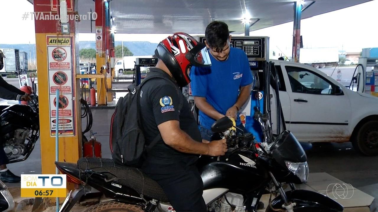 Gasolina chega a R$ 6,59 em Palmas; Preço vai subir mais a partir desta terça-feira (26)