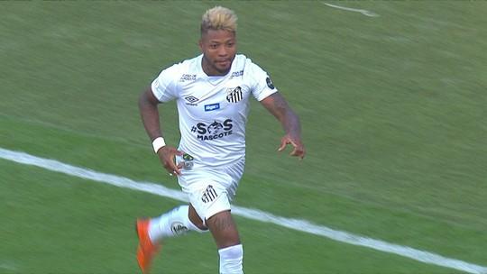 Veja os gols de Santos 3 x 3 Fortaleza na Vila Belmiro