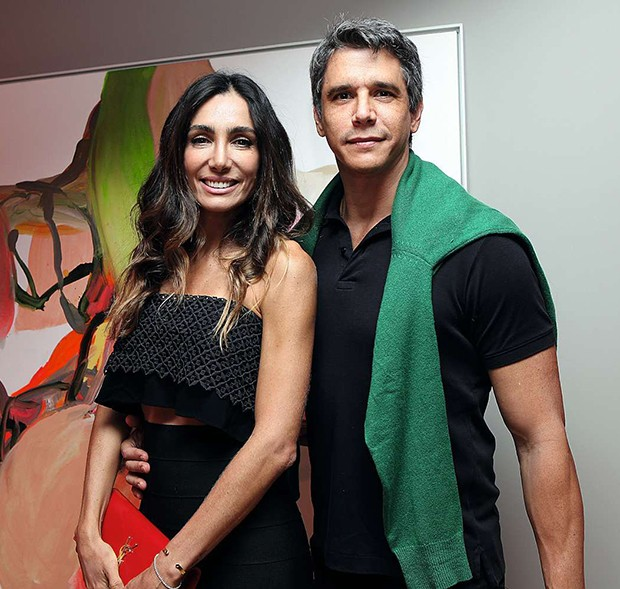 Andréa Santa Rosa e Márcio Garcia  (Foto: .)
