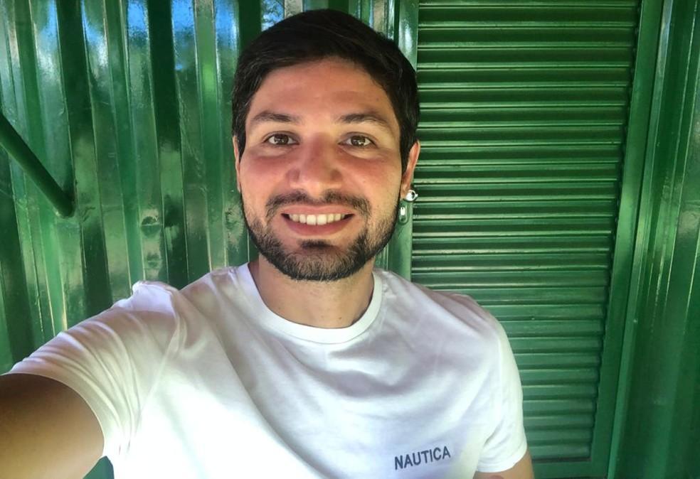 Cláudio Alencar testou positivo, não apresentou sintomas  — Foto: Cláudio Alencar/Acervo pessoal