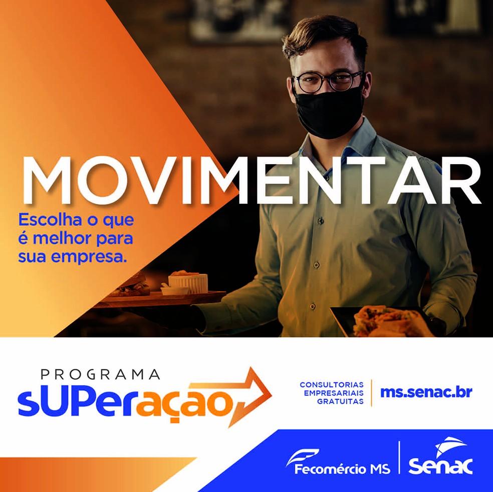 Senac MS — Foto: Divulgação