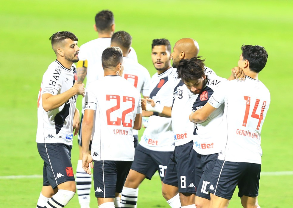 Goiás x Vasco, gol — Foto: Carlos Costa/Futura Press