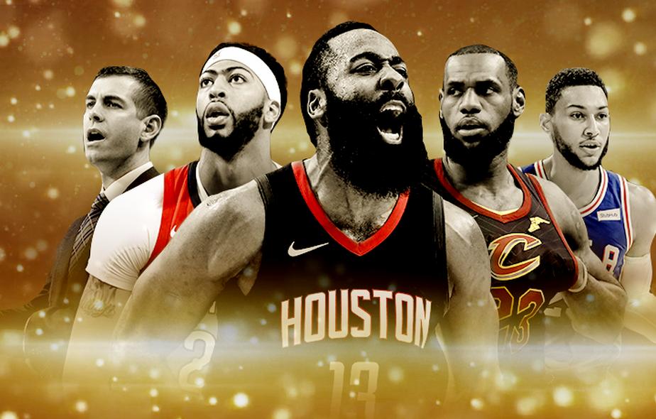 fefb0f23f96d ... Harden ou LeBron para MVP  Compare e vote nos melhores da temporada da  NBA