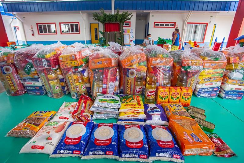 """Programa da prefeitura """"Cesta do Bem"""" garante alimentação a famílias carentes de Boa Vista"""
