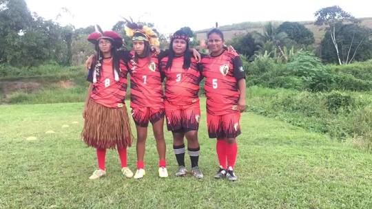 Amor pelo Flamengo, inspiração em Marta: conheça a rotina do time formado por índias em AL