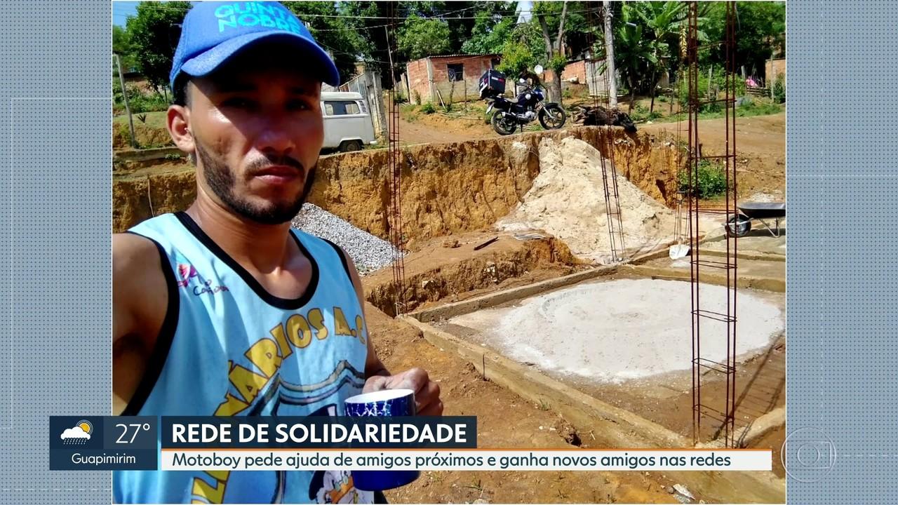Rede de solidariedade pode ajudar Willian a construir a casa que tanto sonha