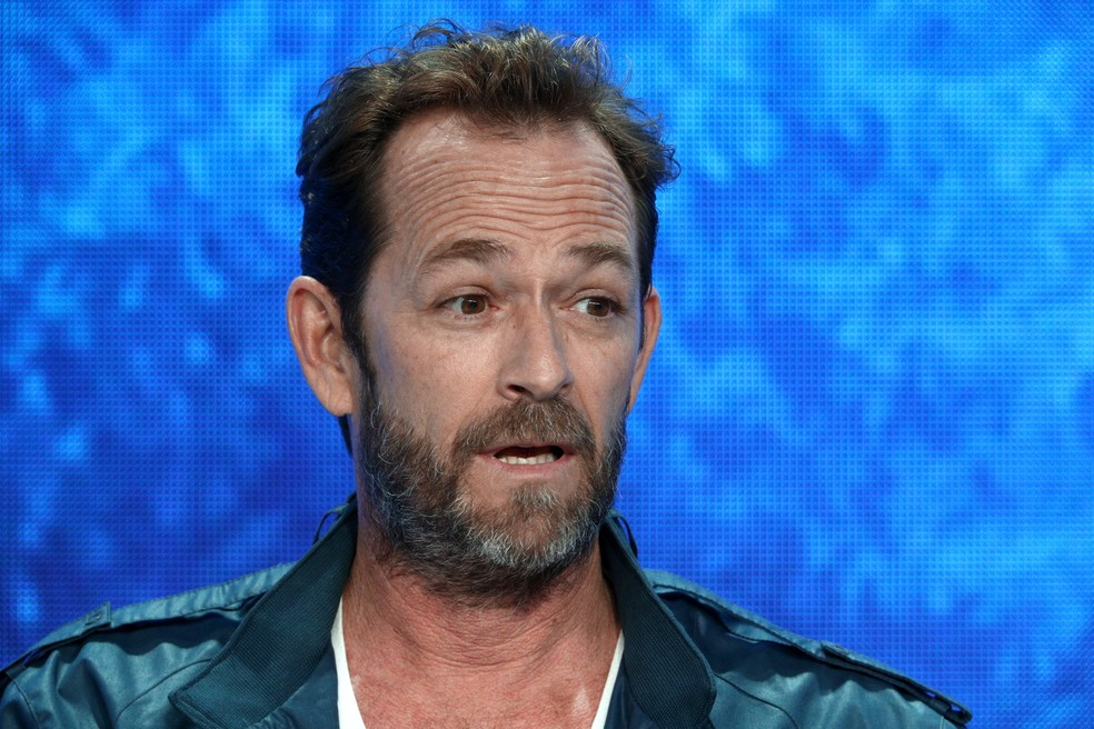 Luke Perry, em foto de agosto de 2018 — Foto: Frederick M. Brown/Getty Images/AFP
