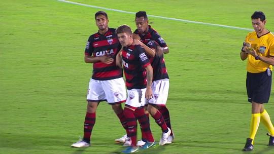 Os gols de Atlético-GO 2 x 0 Ponte Preta pela 25ª rodada da série B do Brasileirão