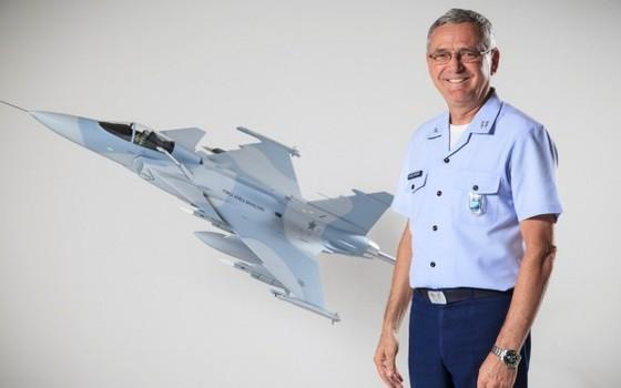 O Comandante da Aeronáutica Nivaldo Rossato (Foto: Divulgação/ Aeronáutica)