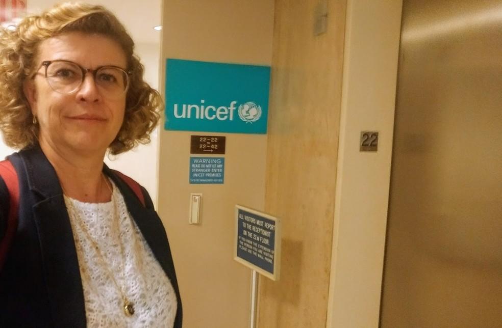 Professora Cláudia Lindgren coordena estudo que identificou 71 bebês com anticorpos de Covid-19 em Minas Gerais  — Foto: Arquivo pessoal
