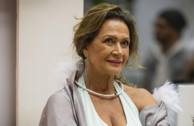 A aposentada leda Wobeto entrou na casa do 'BBB' aos 70 anos. Foi a participante mais velha da História do reality (Foto: TV Globo)