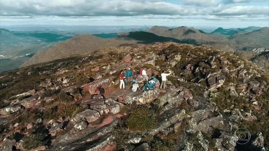 Globo Repórter chega ao topo do Pico do Barbado, ponto mais alto do Nordeste