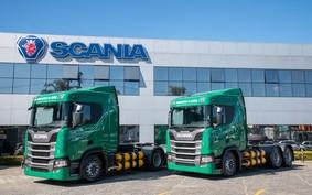 Com caminhões a gás e biometano, Scania vê potencial no agro