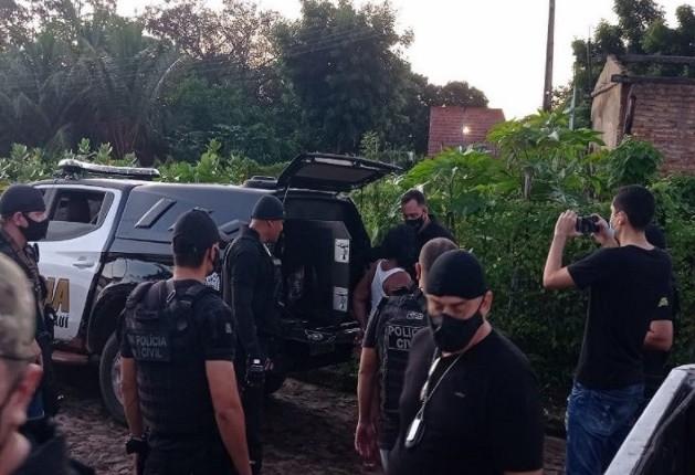 Polícia prende suspeitos de enforcar e agredir idosa de 81 anos com chutes em Buriti dos Lopes