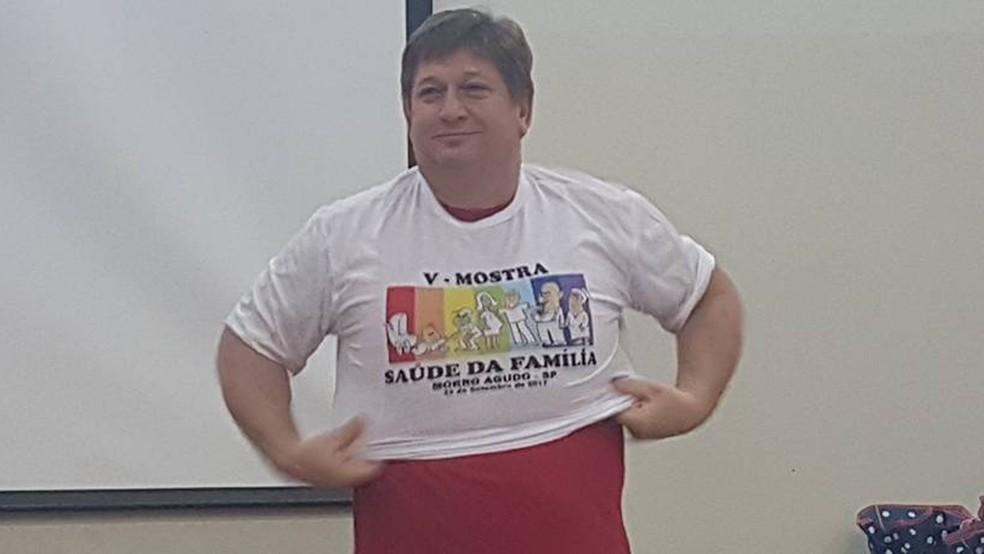 O prefeito de Morro Agudo, Gilberto Barbeti (PDT), foi afastado do cargo por 90 dias — Foto: Reprodução/Facebook