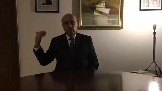 Em vídeo, Meirelles pede orações pela economia e pela geração de empregos
