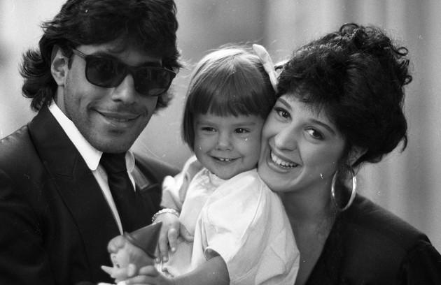 """Em 1987, o dois viveram o casal da foto, Apolo e Tancinha, na novela """"Sassaricando"""". O casamento não durou muito e em 1989 os dois se separaram (Foto: Irineu Barreto / Agência O Globo)"""