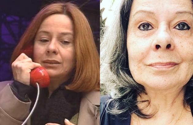 Débora Duarte foi Mariana, a mãe verdadeira de Jorge. A atriz estará na série 'Cinema café', do CineBrasil TV (Foto: TV Globo / Reprodução)