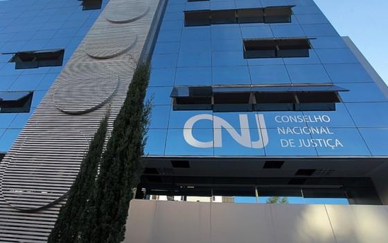 A sede do Conselho Nacional de Justiça, em Brasília (Foto: Gil Ferreira/Agência CNJ)