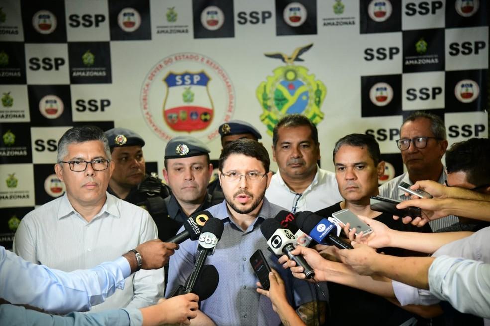 Governo instala Gabinete de Crise e coloca sistema de segurança em alerta em combate ao tráfico de drogas no AM — Foto: Tácio Melo/Secom