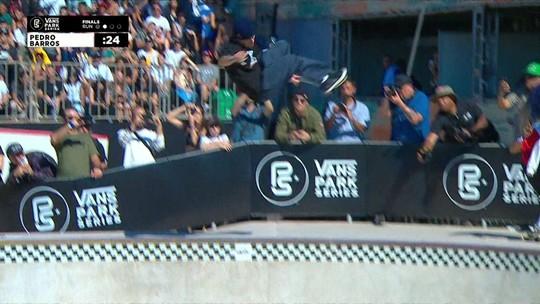 Pedro Barros domina e vence etapa de São Paulo do Circuito Internacional de Skate Park
