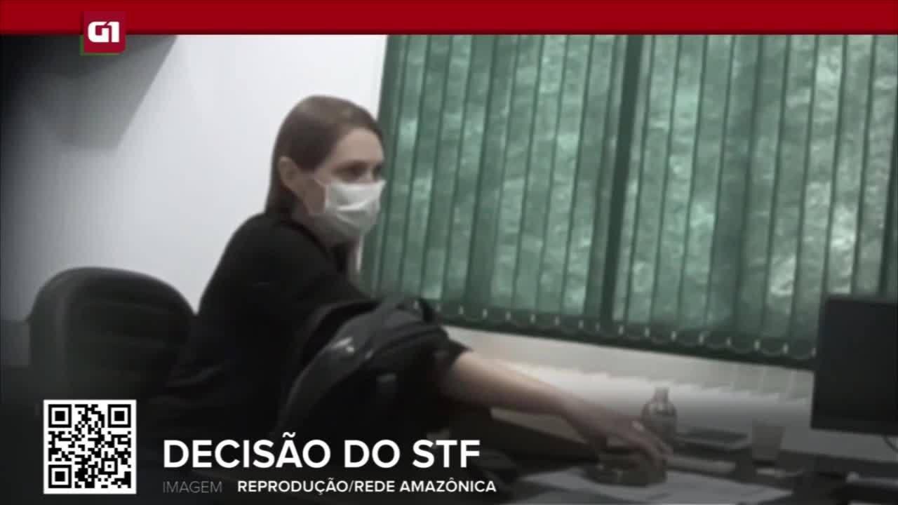 G1 em 1 Minuto RO: STF nega prisão domiciliar para prefeita Lebrinha