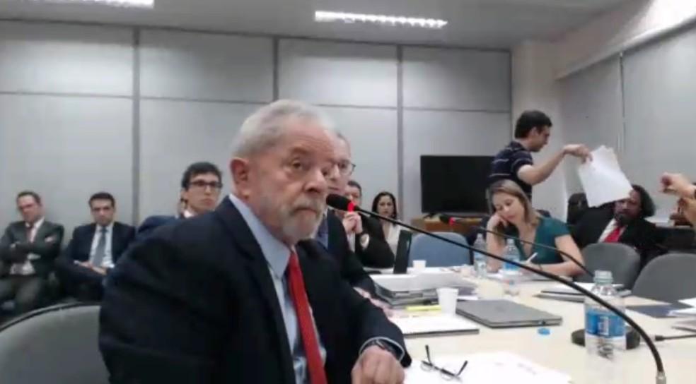 Lula — Foto: Reprodução