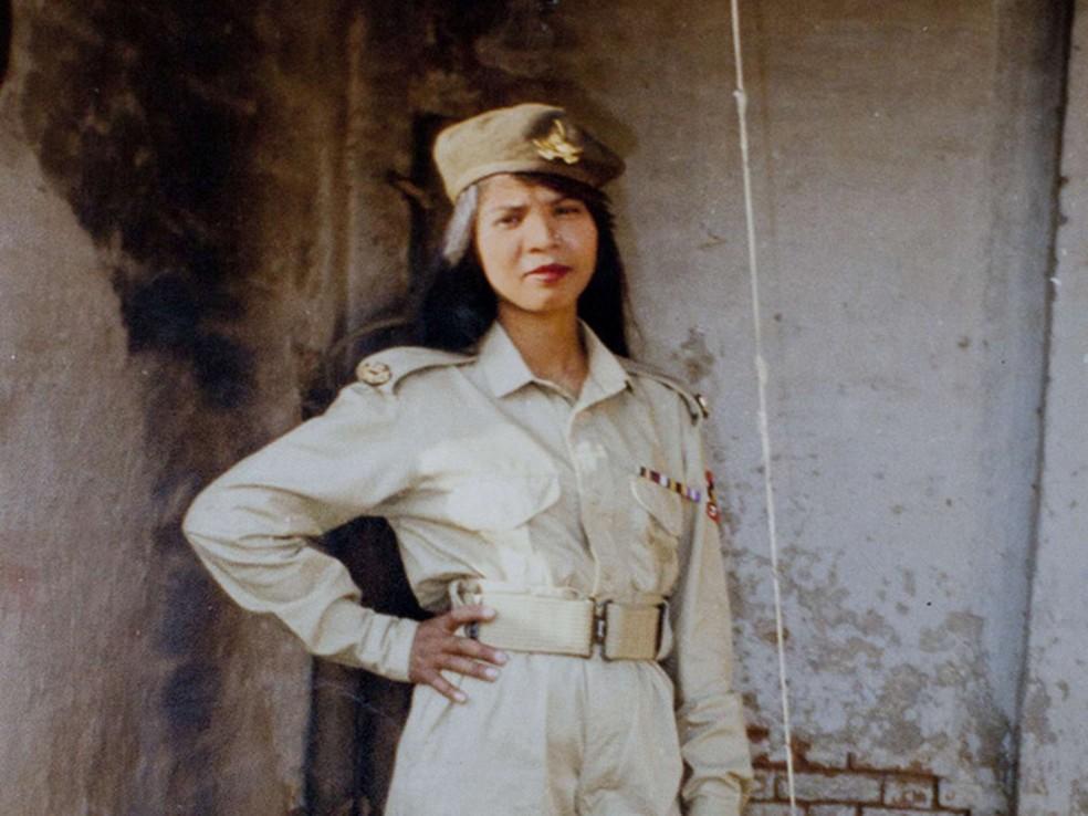 Asia Bibi em foto não datada divulgada pela família. — Foto: AP