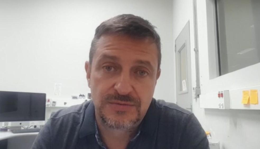 O pesquisador da Unesp de Botucatu e vice-presidente da Sociedade Brasileira de Virologia, João Pessoa Araújo Júnior — Foto: Reprodução