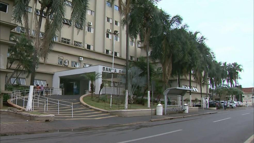 Rede hospitalar de Barretos está com a taxa de ocupação da UTI em 100%  — Foto: Reprodução/EPTV