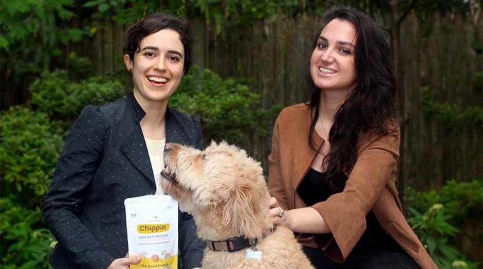 Haley Russell (a esquerda) e Laura Colagrande, fundadoras da Chippin (Foto: Divulgação)