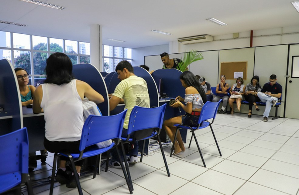 O Espaço da Oportunidade funciona nos altos da Rodoviária Roberto Silveira no Centro — Foto: Divulgação/Prefeitura de Campos