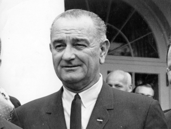 Lyndon B. Johnson, sucessor de Kennedy (Foto: Getty Images)