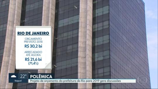 Prefeitura do Rio prevê arrecadação maior para 2019; vereadores contestam números