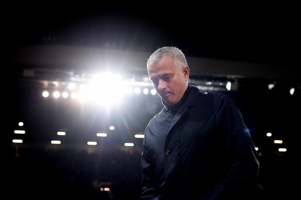 José Mourinho foi demitido do Manchester United em dezembro — Foto: Getty Images
