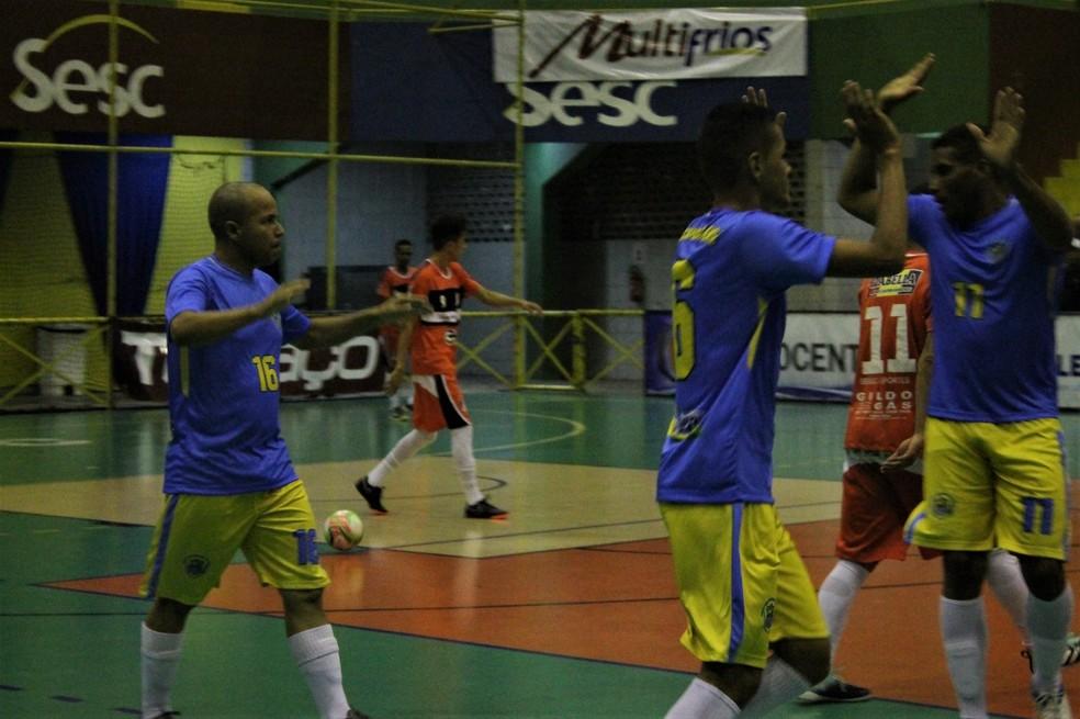 Orocó venceu a Seleção Boavistana na Copa TV Grande Rio de Futsal (Foto: Emerson Rocha)