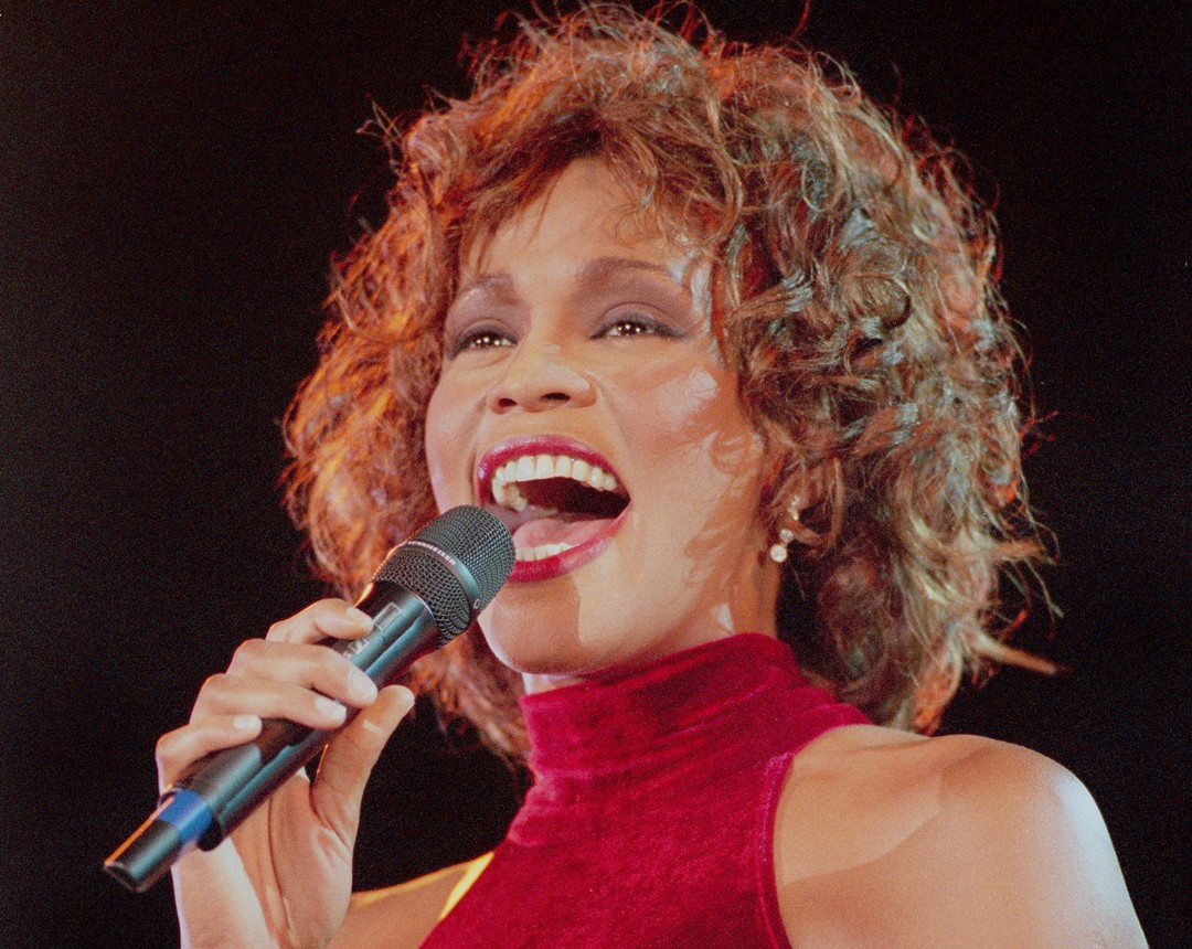 Whitney Houston em 1996 (Foto: Getty Images)