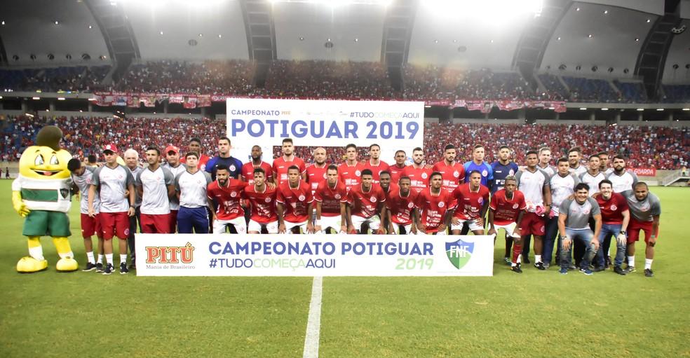América-RN campeão potiguar em 2019 — Foto: Pedro Vitorino