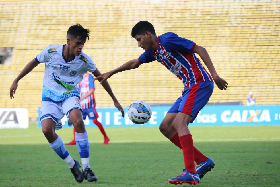 Piauí x Parnahyba - Piauiense sub-19 2018 (Foto: Arthur Ribeiro / GloboEsporte.com)