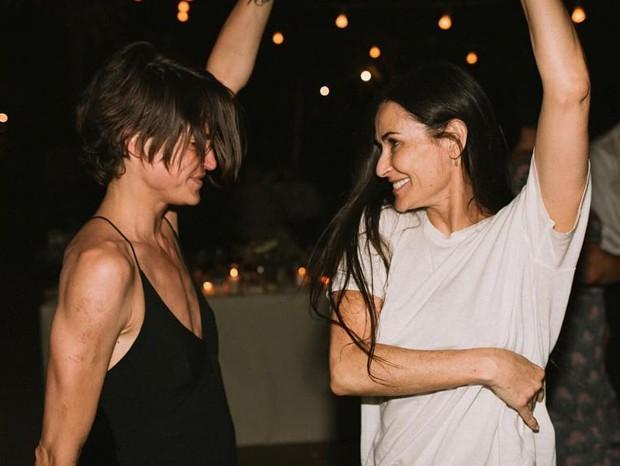 Masha Mandzuka e Demi Moore (Foto: Reprodução/Instagram)