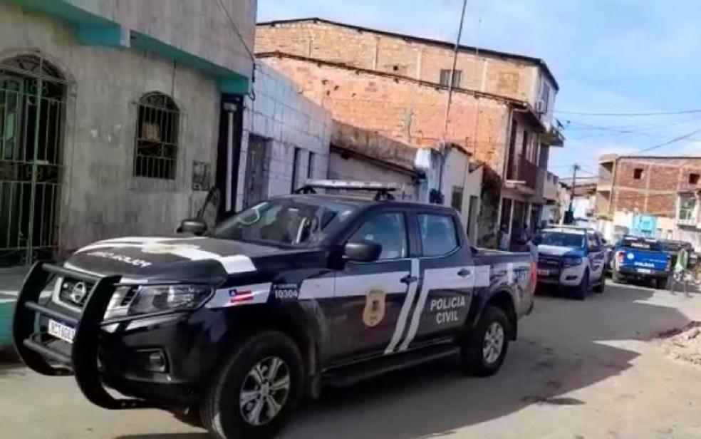 Homem morre e dois são presos em operação contra o tráfico de drogas em Santo Amaro, no recôncavo baiano — Foto: Divulgação/Polícia Civil de Santo Amaro