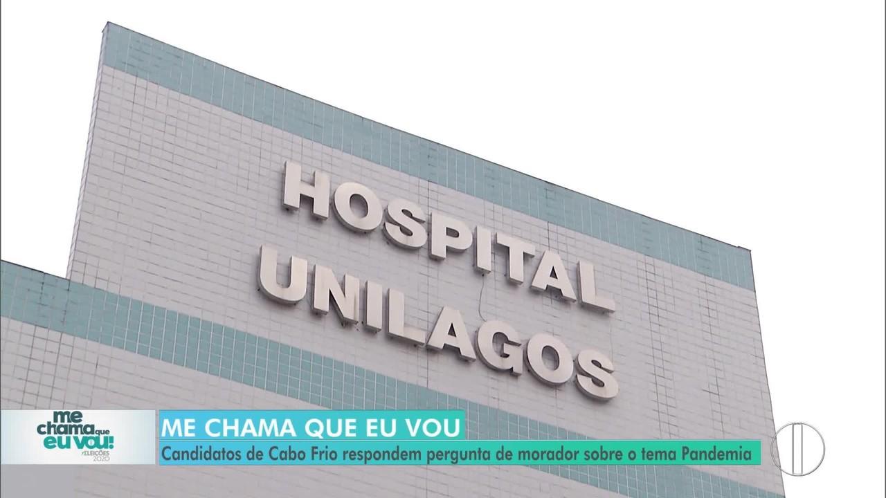 Pandemia: Candidatos de Cabo Frio respondem morador sobre o tema