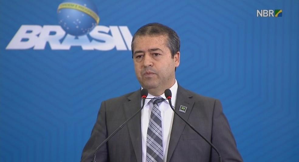 Ronaldo Nogueira, ministro do Trabalho (Foto: Reprodução/NBR TV)