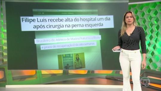 Filipe Luís sofre lesão e Tite convoca jogador do Juventus